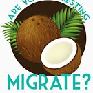 Are You Suggesting Coconuts Migrate? by littobitto