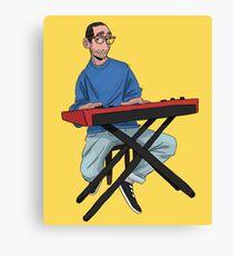 keyboard boy Canvas Print