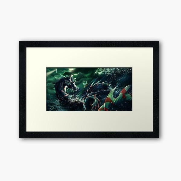 Surviving the Night Framed Art Print