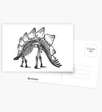 STEGOSAURUS Pop Art Postcards