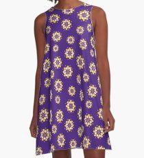 Venus Blumen LSU 1 A-Linien Kleid