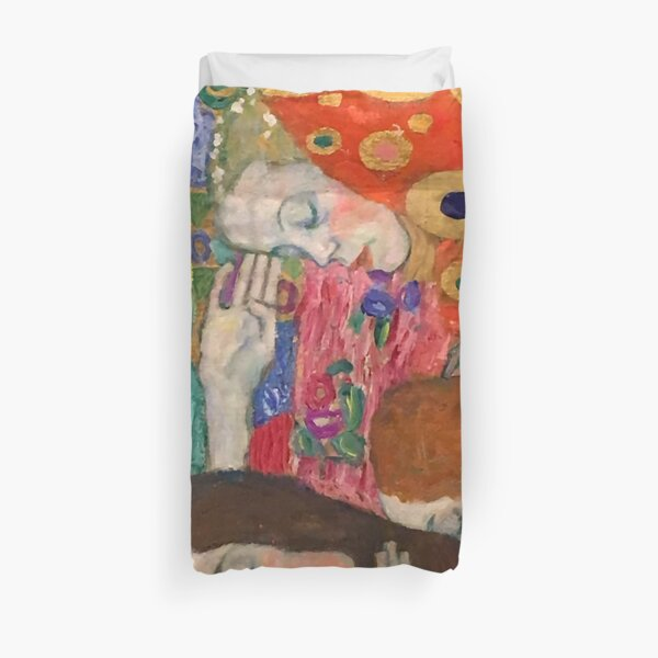 "Gustav Klimt ""Hope II"" (detail) Duvet Cover"