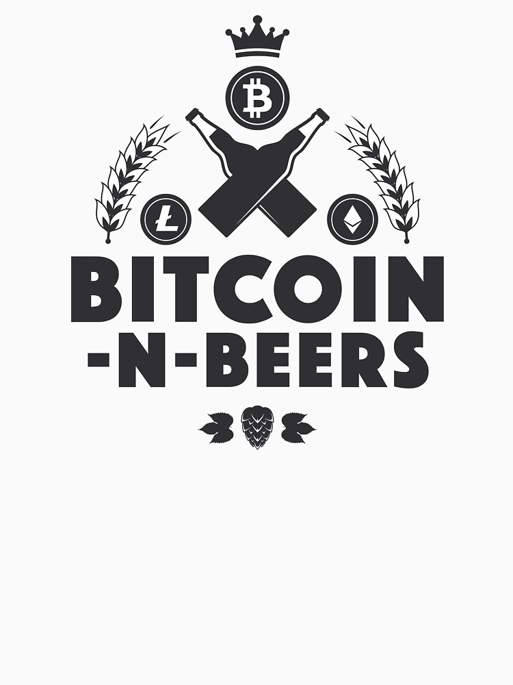 Bitcoin-N-Beers (Center / Light) by Bitcoin-N-Beers