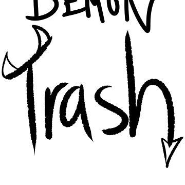 Demon Trash by DeathPawn