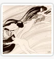 """Gustav Klimt """"Fish Blood"""" Sticker"""