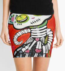 Gato De Los Muertos Mini Skirt