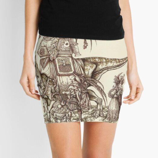 An Airing Mini Skirt