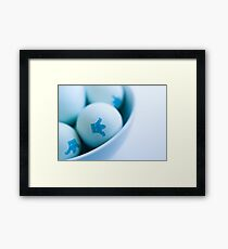 Eggs is eggs Framed Print