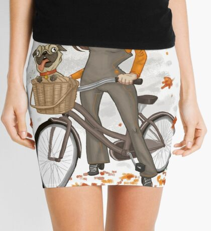 Autumn ride Mini Skirt