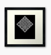 Postmodernism Framed Print