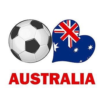 Australia Soccer Fan by CafePretzel