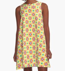 event minimal pattern holiday seamless colorful repeat A-Line Dress