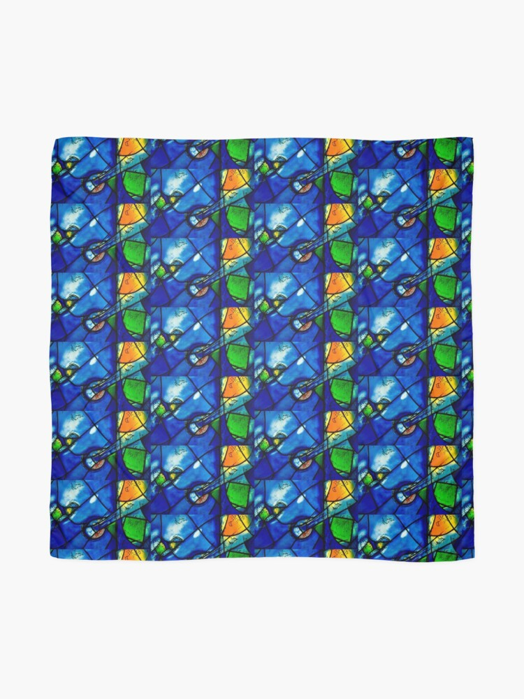 Alternate view of Chagall windows detail Scarf
