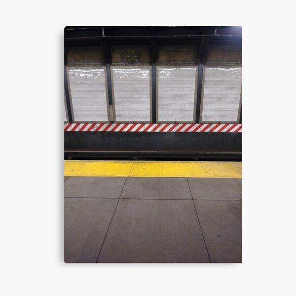 New York City, Manhattan, Brooklyn, New York, streets, buildings, skyscrapers, cars, pedestrians, #NewYorkCity, #Manhattan, #Brooklyn, #NewYork, #streets, #buildings, #skyscrapers, #cars, #pedestrians Canvas Print