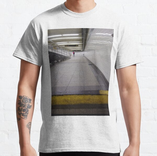 New York City, Manhattan, Brooklyn, New York, streets, buildings, skyscrapers, cars, pedestrians, #NewYorkCity, #Manhattan, #Brooklyn, #NewYork, #streets, #buildings, #skyscrapers, #cars, #pedestrians Classic T-Shirt