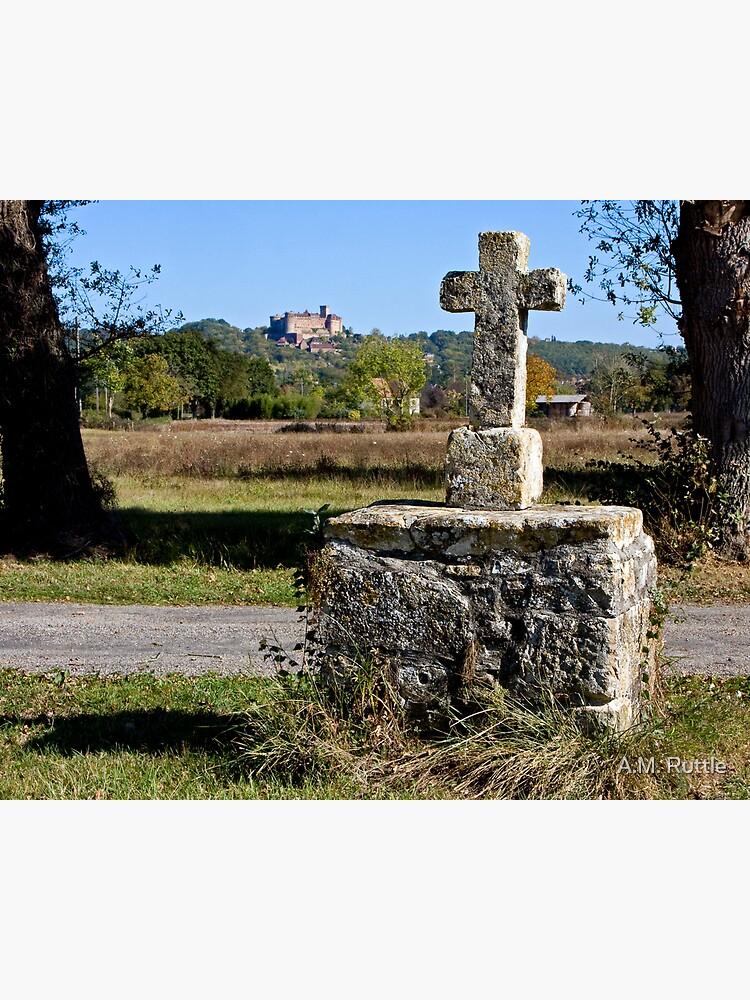 Stone Cross, Dordogne Valley by annruttle