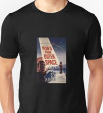 Plan 9 from Outer Space Bela Lugosi Vintage Cult Movie Poster Unisex T-Shirt