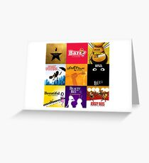 Bee Movie as Broadway Musicals Greeting Card