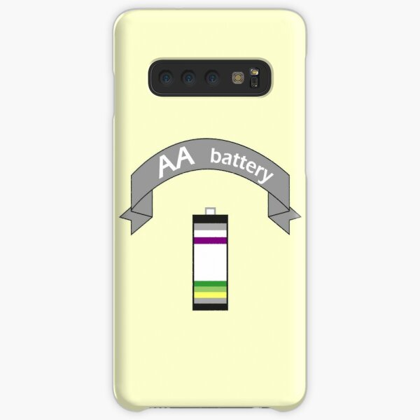 Double A Battery (Asexual & Aromantic) Samsung Galaxy Snap Case