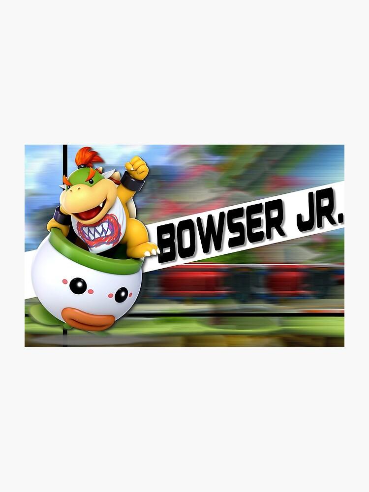 Super Smash Bros Ultimate Bowser Jr Poster Photographic Print