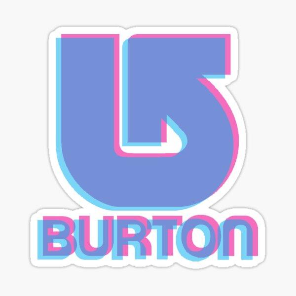 Burton Snowboards Logo 3D Sticker