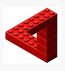 Escher Toy Bricks - Rot Fotodruck