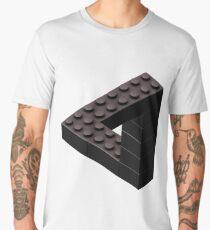 Escher Toy Bricks - Black Men's Premium T-Shirt