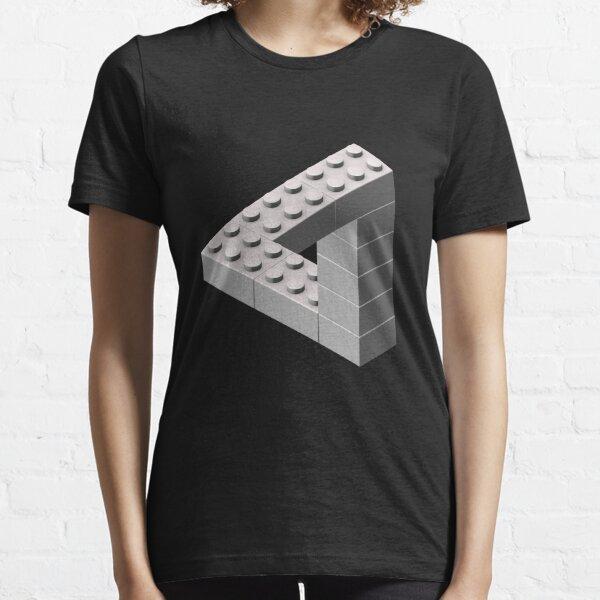 Escher Toy Bricks - White Essential T-Shirt
