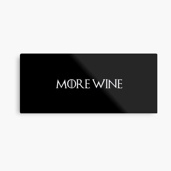 Cersei Lannister - More Wine Metal Print