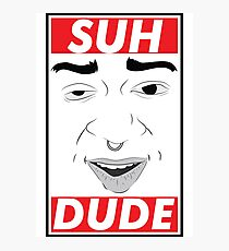 Suh dude obey style Photographic Print