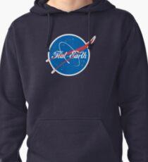 NASA Flat Earth Coke parody logo Pullover Hoodie