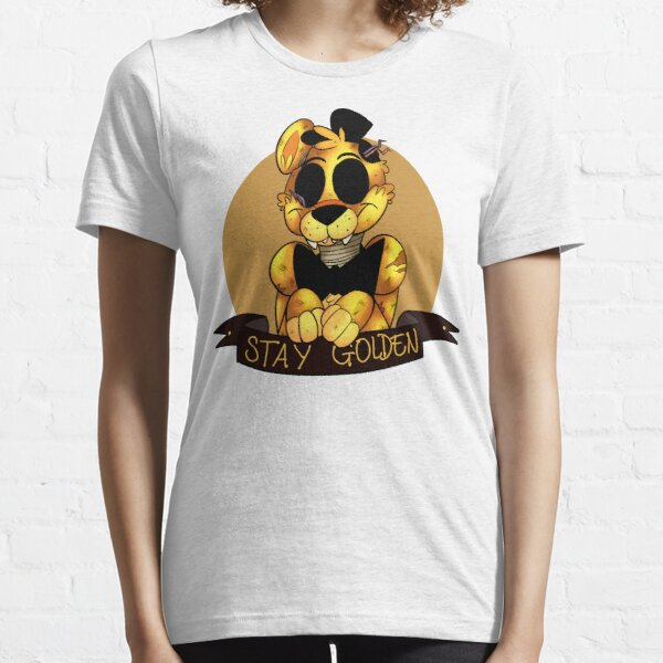 'Stay Golden' Golden Freddy (Five Nights At Freddy's) Essential T-Shirt