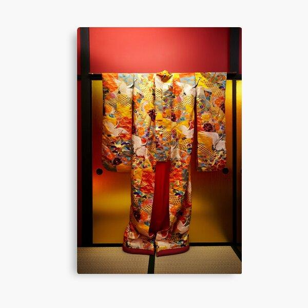 Japanese Kimono Canvas Print
