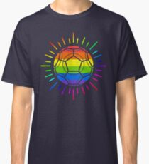 The Beautiful Game, A Proud Life Soccer and LGBT Pride Classic T-Shirt