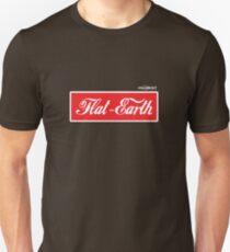 Flat Earth Coke parody logo Unisex T-Shirt
