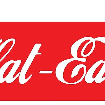 Flat Earth Coke parody logo by GLOBEXIT