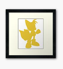 miles Tails prower Framed Print