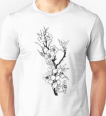 Flower illustration Unisex T-Shirt
