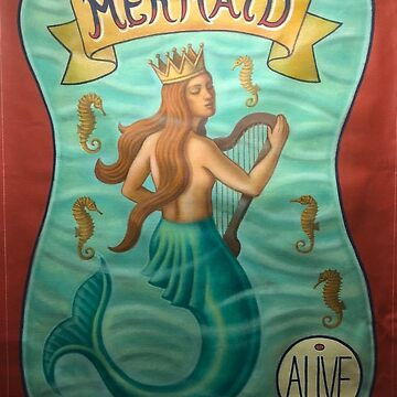 Mermaid Banner by ThomasSciacca
