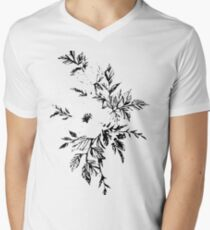 Flower illustration Men's V-Neck T-Shirt