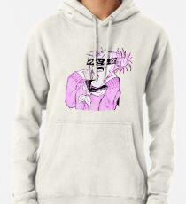 LEWD (PINK) - Sad Japanese Anime Aesthetic Pullover Hoodie