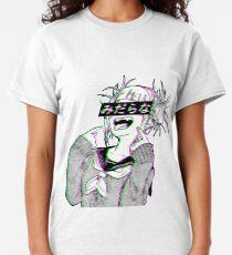 LEWD - Sad Japanese Anime Aesthetic Classic T-Shirt