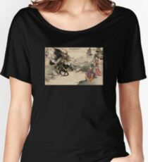 Chinese Art Heros Women's Relaxed Fit T-Shirt