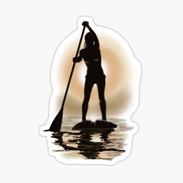 Paddle board Sticker