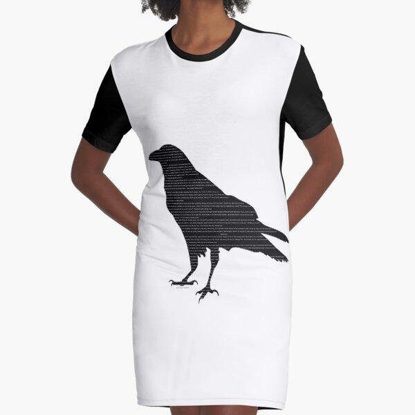 The Raven - Poe Graphic T-Shirt Dress