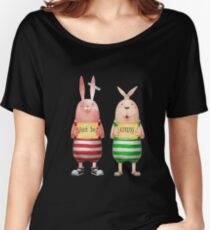 Crazy sweet rabbits Women's Relaxed Fit T-Shirt