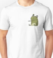 Comic Frog confused Unisex T-Shirt