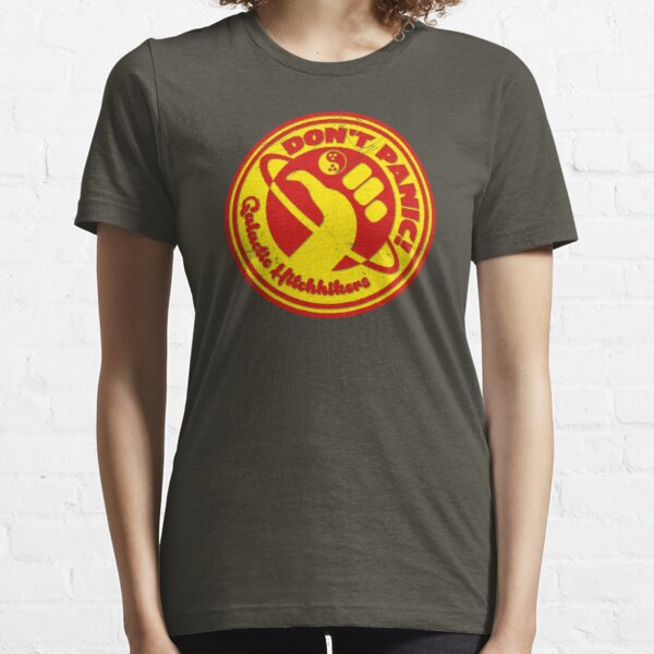 Dudeist Hitchhiker 2 Spaceworn Essential T-Shirt