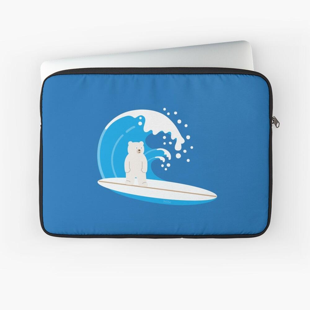 unBEARable Surf Laptop Sleeve