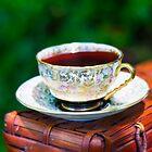 Glowing Tea On the Traill by Nicole  McKinney